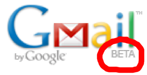 gmail-is-beta